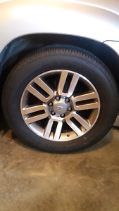 "Toyota 4runner 20"" Limited wheels and tires"