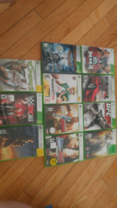 X box 360 and 11 games