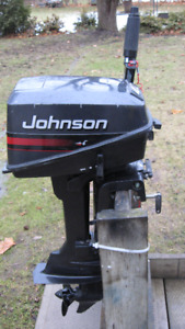 Johnson 4HP Outboard Motor      (STILL AVAILABLE)