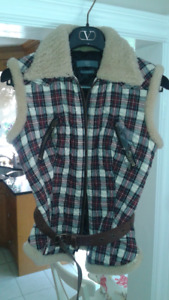 Alexander McQueen Quilted Vest size small