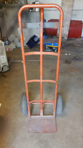 Hand trolley - great for moving with pump up tires