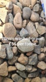 20mm washed gravel