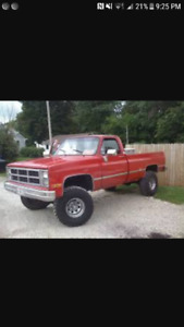 Wanted square body chev