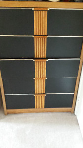 2 Bed side Tables and matching Chest-Good condition
