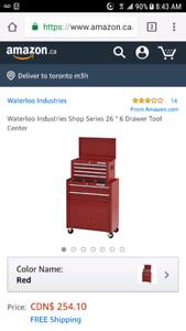 Waterloo tool chest plus top box