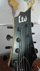ESP LTD H338, 8 string electric guitar, fresh setup