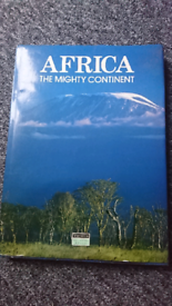 """Africa """"The mighty continent"""" huge book £10"""