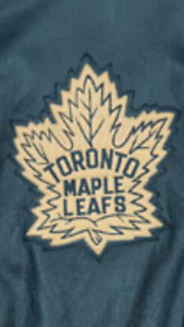 LEAFS - Roger Edwards LIMITED EDITION Leafs Leather Jacket -MINT