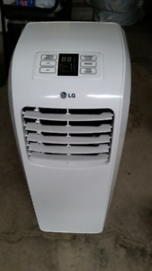 "LG AC, 8,000 BTU Portable Air Conditioner with Remote ""AS IS"""