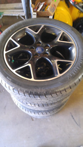 4 rims and tires for sale. 225/50R17.