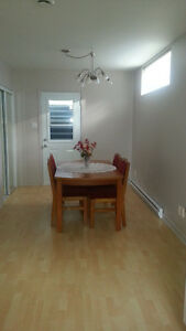 3 1/2 furnished apartment for rent, available in July