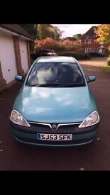 Vauxhall Corsa 1.2 53 Plate needs to go ASAP