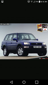 Looking to buy a Toyota rav 4
