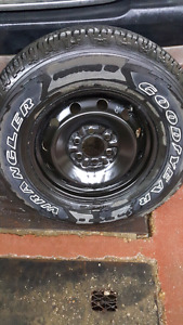 """1 spare wheel for f150 17"""""""