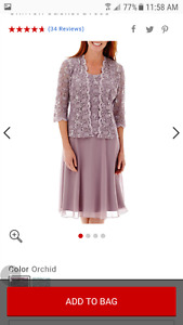 Reduced!!Beautiful Mother of the Bride or special occasion dress