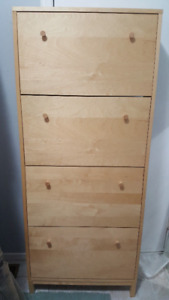 TALL Storage Hidden Sheves Cabinet Shoes, Crafts Supplies etc