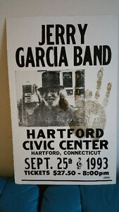 1993 CONCERT POSTER - JERRY GARCIA BAND
