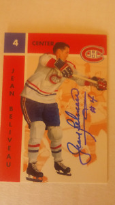 Cartes de hockey cards