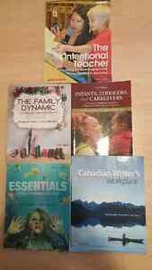 Early Childhood Education ECE BOOKS Conestoga College