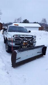 2000 Dodge Ram 1500 plow truck