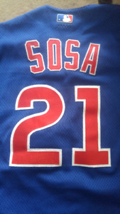 Official Sosa Chicago Cubs Jersey