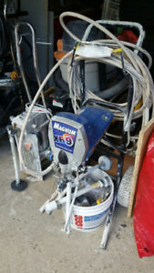 Paint Spraying Machine - Deck Fence Walls Ceilings - CHEAP!