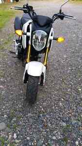 Only 2000 km Honda Grom 125 cc purchased new May 2016 Prince George British Columbia image 2