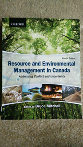 Resourse and Environmental Management in Canada Kitchener / Waterloo Kitchener Area image 1
