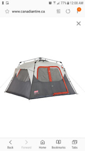 *Brand New* Coleman camping tent for 6 people