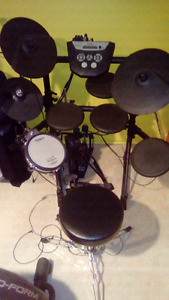 Roland electronic drum double bass
