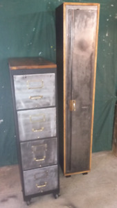 Industrial locker and filing cabinet