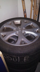 Original rims from Mazda 3 Cambridge Kitchener Area image 1