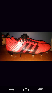 Football cleats.
