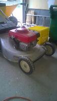"Honda HRA214 Lawnmower trade for 2 stage 24"" snowblower"