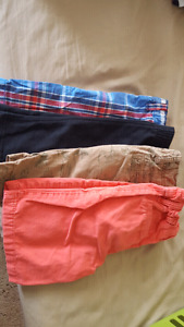 Size 6 boys tees and shorts