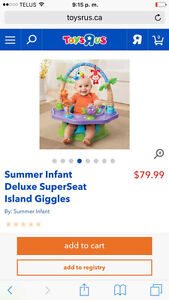 Summer Infant Deluxe Island Giggles SuperSeat