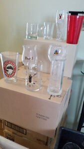 Bar glasses for party or business