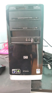 HP Pavilion Home Computer with monitor and keyboard