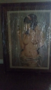 Oil Painting of nude