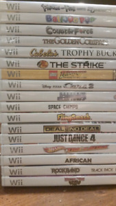 New Unopened Nintendo Wii Games for Sale