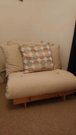 Single futon chair