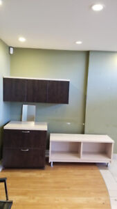 Free filing cabinet and other furniture items
