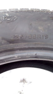 Summer tire's good condition
