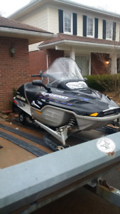 snowmobile 2002 Skidoo 700 Legend