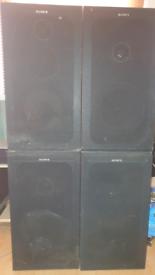 FREE Sony Speakers (x 4)