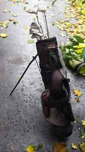 Women's Golf Clubs with Golf Bag- Right Hand
