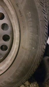"Tires and rims - 15"" OEM rims from Nissan"