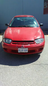 FOR TRADE/ OR SELL  2005 CHEV CAVLIER,  GOOD COND.