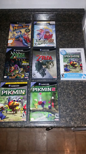 Selling gamecube games :)