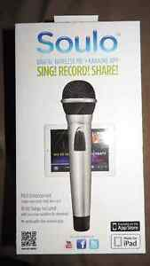 SOULO AM71 Digital Wireless MiC Karaoke app Sing! Record! Share!